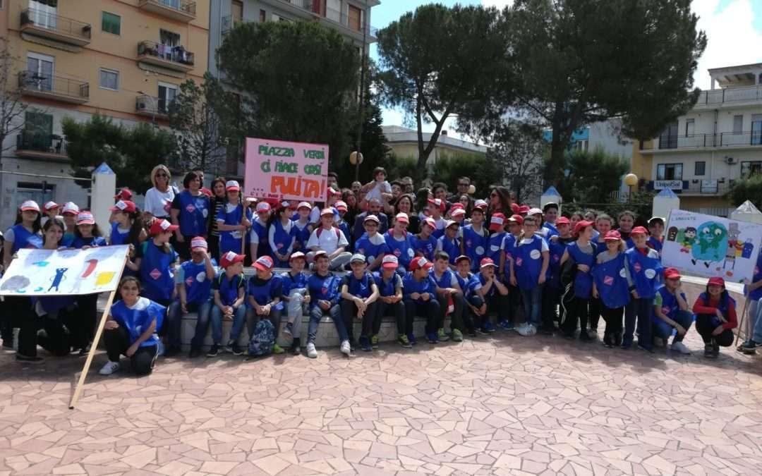 Svitati per l'Ambiente – Inaugurazione del giardino di piazza Verdi a Grottaglie