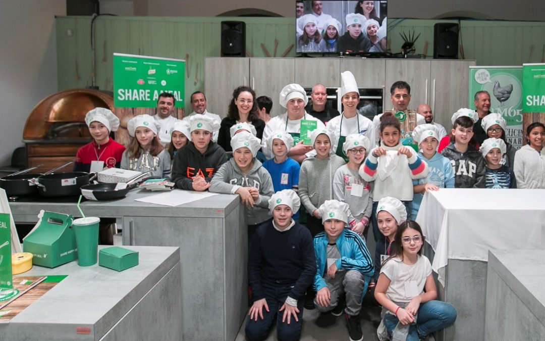 Share a Meal: I futuri chef vincitori contro lo spreco!