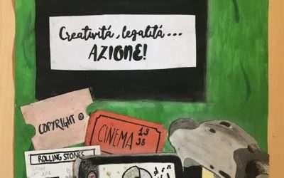 """Rispettiamo la Creatività – Vince il Concorso la classe I^ A dell'Istituto Comprensivo """"Aldo Moro"""" di Stornarella (FG)"""