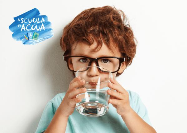 A scuola di acqua, progetto educativo, percorso didattico, corretta idratazione, progetto didattico idratazione