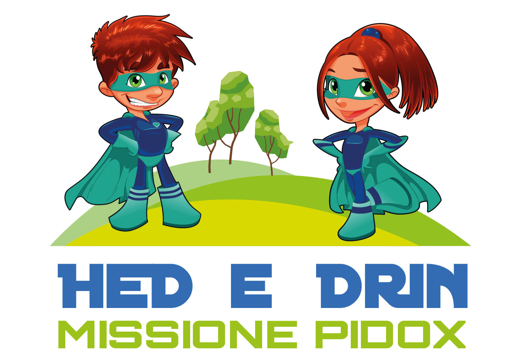 logo Hed e Drin Missione Pidox